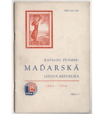 Katalog známek - Maďarsko 1954