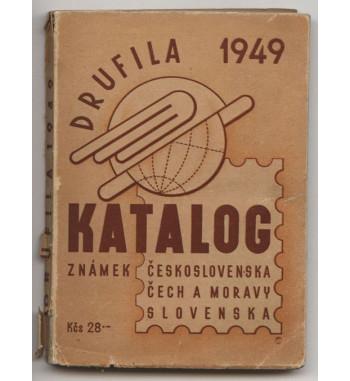 Katalog známek Drufila 1949