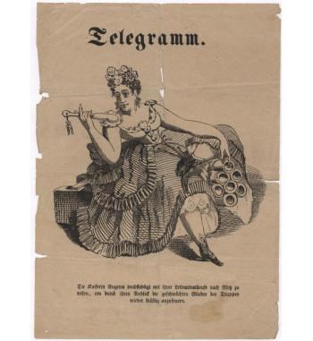Obálka telegramu