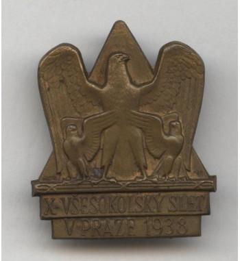 Sokol - slet 1938 mosaz