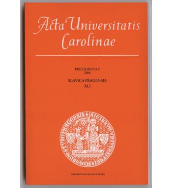 Acta Universitatis Carolinae