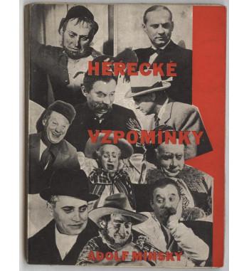 Adolf Minský - Herecké...